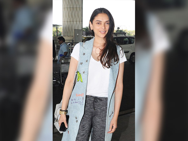 Aditi Rao's Simple And Elegant Look