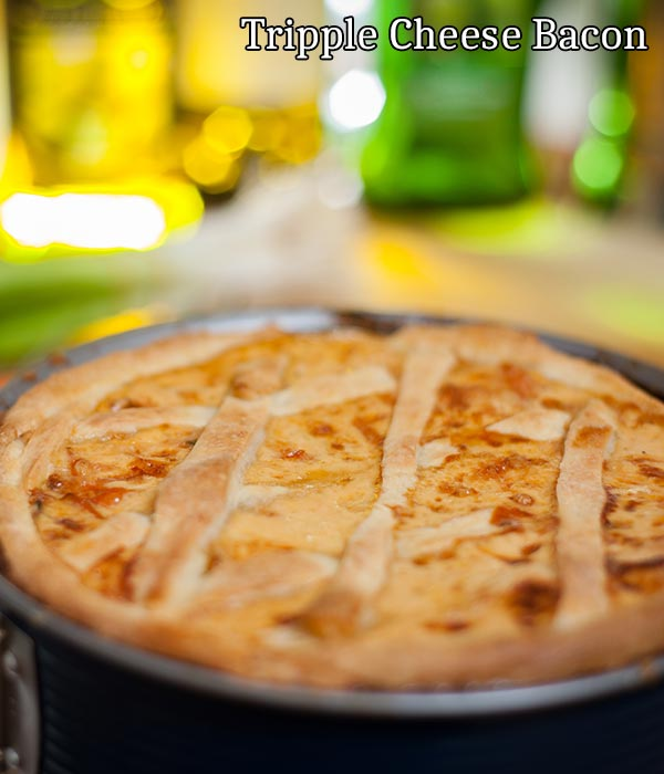 Triple cheese and bacon dauphinoise recipe