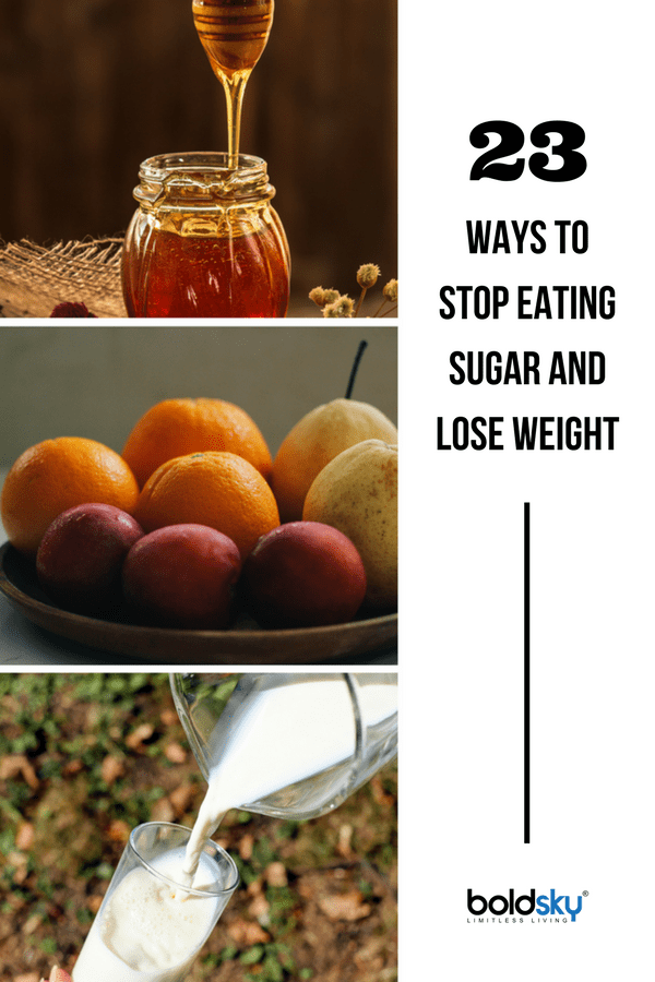 how to stop eating sugar and lose weight