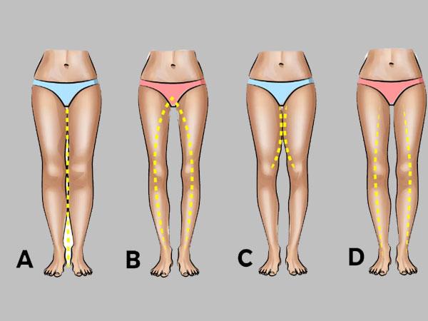 Legs between sexy gap 3 Reasons