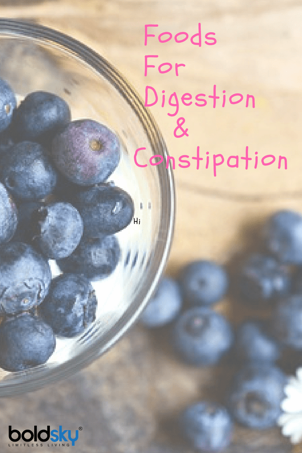 foods good for digestion and constipation