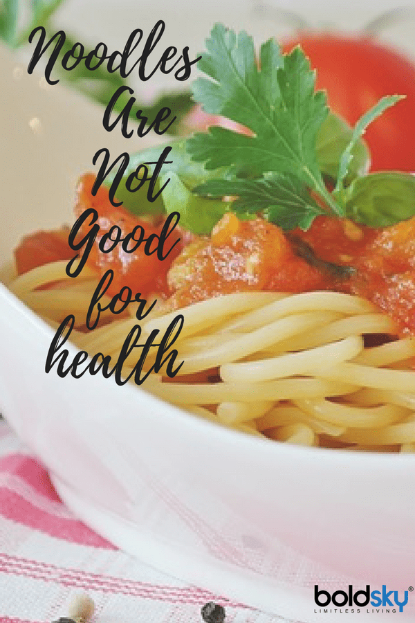 Are noodles good for health