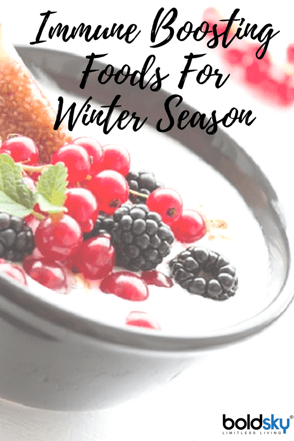 immune boosting winter foods