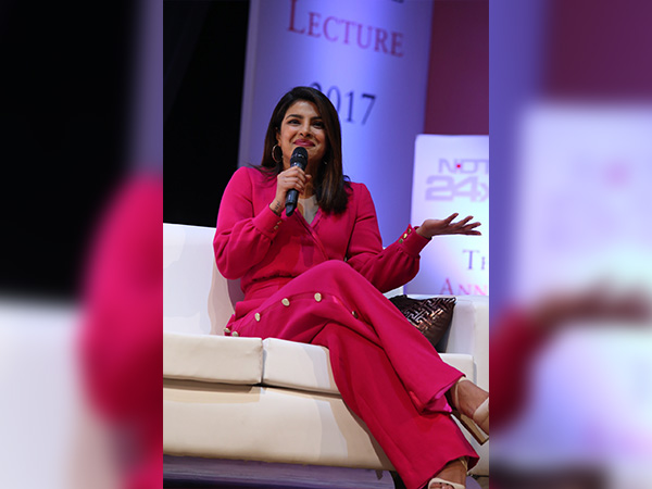 priyanka chopra at penguin annual lecture