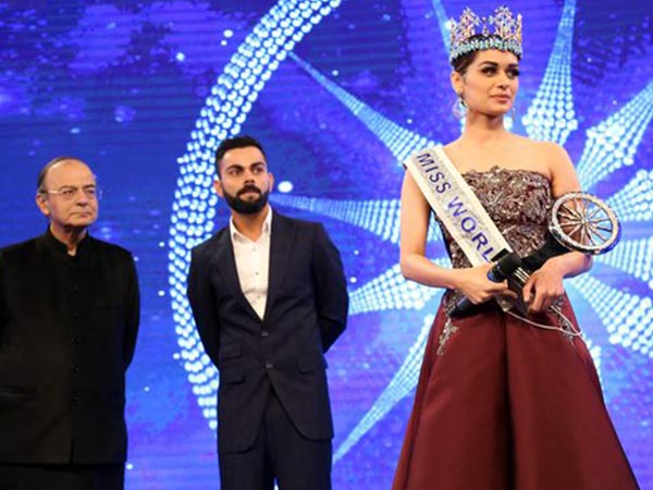 manushi chillar at indian of the year awards