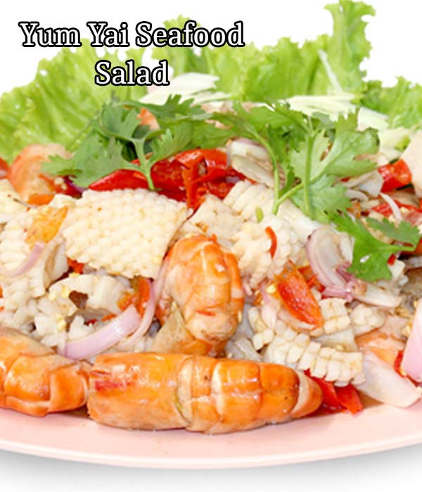 Yum Yai seafood salad recipe