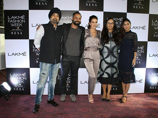 lakme fashion week launched isabelle kaif as the new face of lakme india