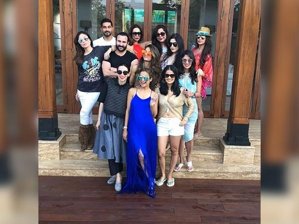 amrita arora birthday party