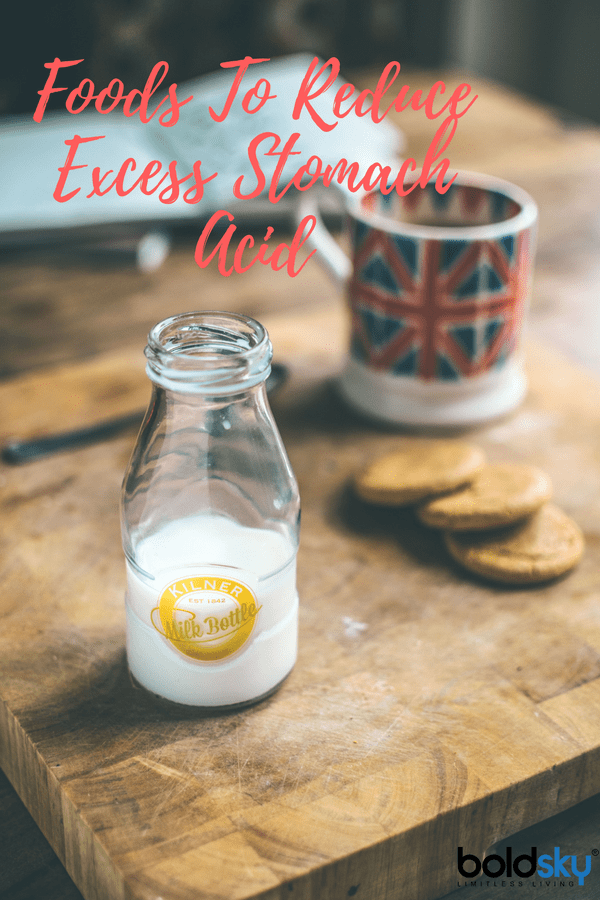 foods that reduce excess stomach acid