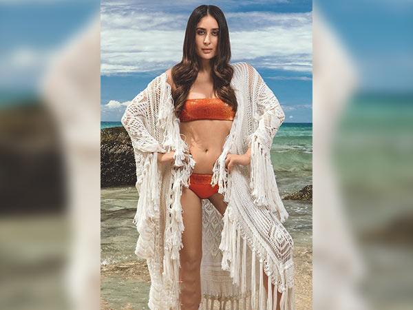 Kareena Kapoor Tampil Seksi di Majalah Vogue Edisi Tahun Baru
