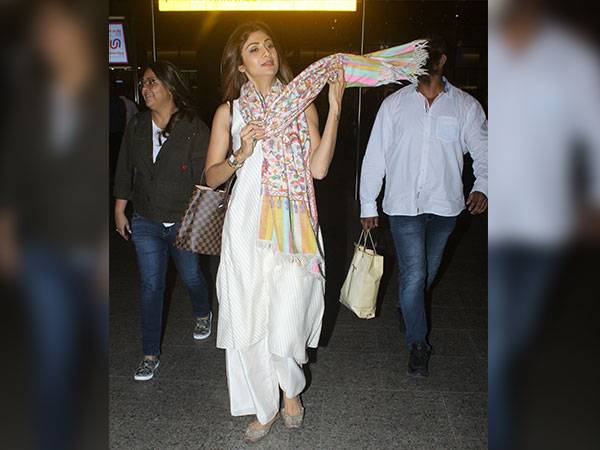 Shilpa Shetty Stuns With Her Airport OOTD In A Desi Avatar