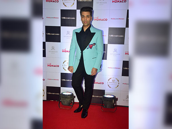 karan johar for cover launch of millionaireasia india magazine