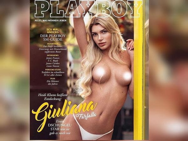 Giuliana Farfalla, World's First Transgender Model On The Playboy Magazine Cover
