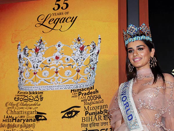 manushi chillar at the inauguration of miss india 2018 auditions