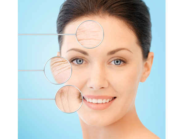 signs of skin ageing