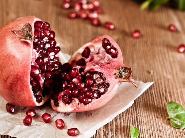 health benefits of pomegranate seeds