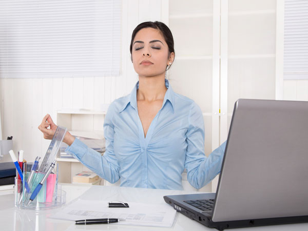 8 Yoga Exercises For Office To Free Your Muscles & Clear Your Mind