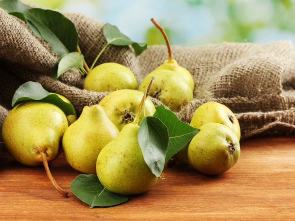 nutrition facts about pears