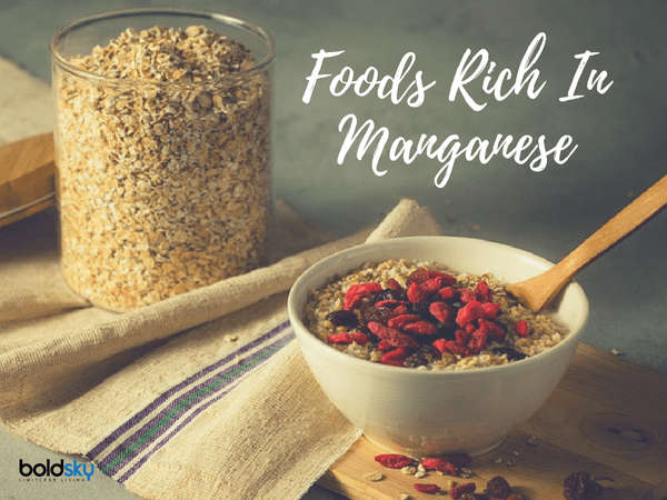 foods high in manganese