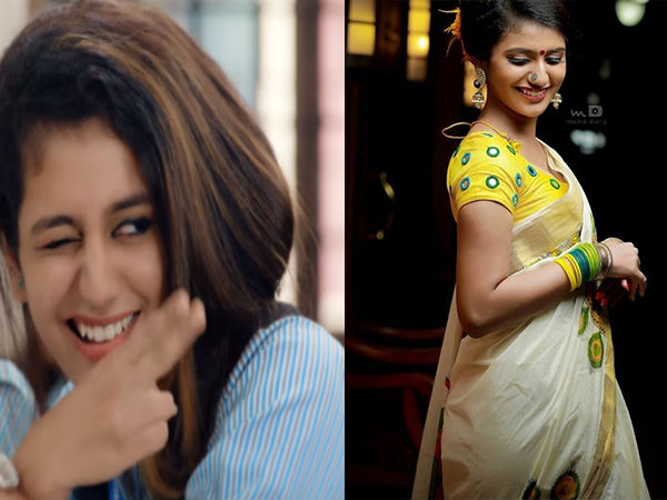 'National Crush' Is An Ultimate Fashionista; Best Style Books Of Priya Prakash Varrier