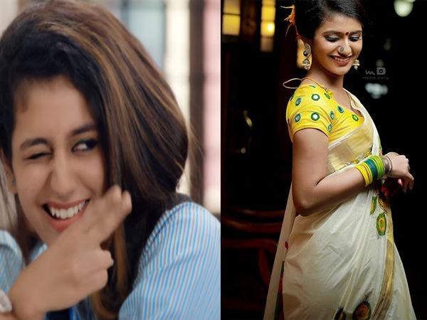 'National Crush' Is An Ultimate Fashionista; Best Style Books Of Priya Prakash Varrier