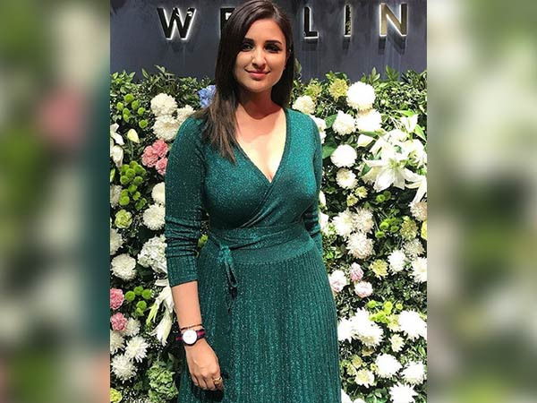 Parineeti Chopra Going Green For A Watch Showroom Inauguration
