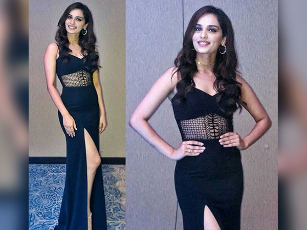 Manushi Chillar Slayed In Black For The Miss World Tour's Welcome Dinner