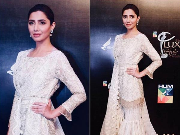 Mahira Khan Carried An Ethereal Look For The Lux Style Awards 2018