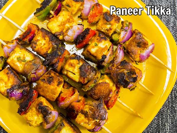 How To Make Low-calorie Paneer Tikka Recipe