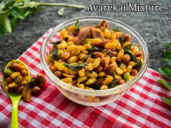 Healthy Snacks: How To Make Avarekai Mixture