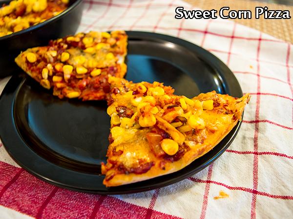 Homemade Sweet Corn Pizza Recipe
