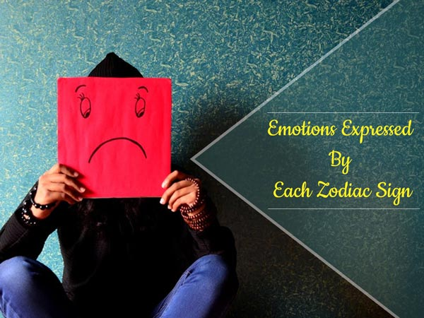 How Do People Express Their Emotions, As Per Zodiac Signs