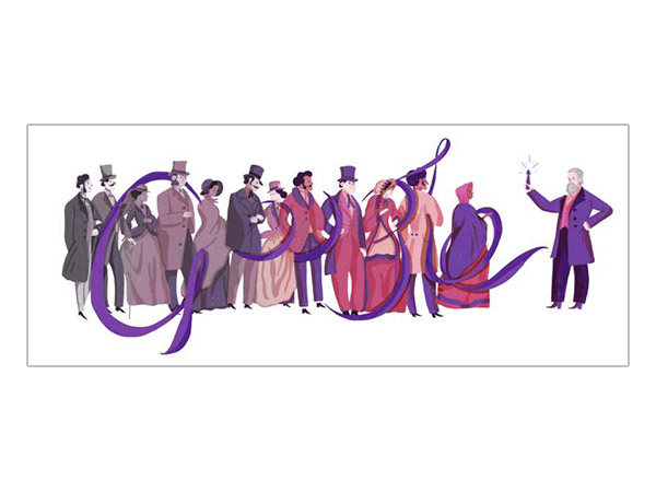 Google Marks Sir William's B'day Today