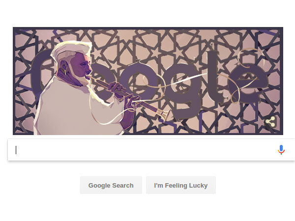 Google Doodle Celebrates Shehnai Player Ustad Bismillah Khan On His 102th Birthday
