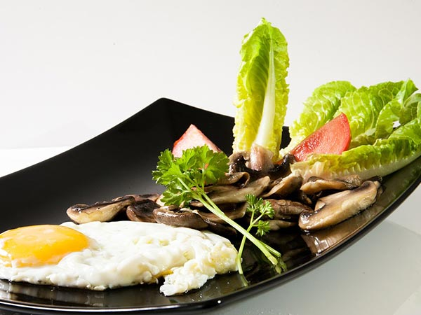 eggs and mushrooms healthy