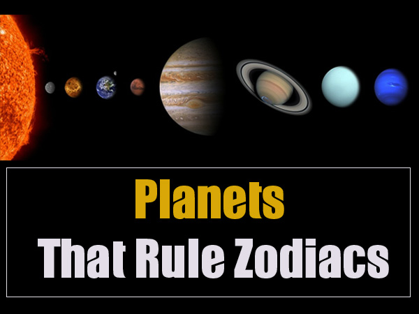 Planets ruling zodiac signs Understanding Your
