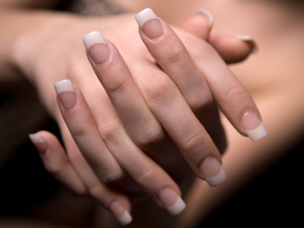 get white nails at home