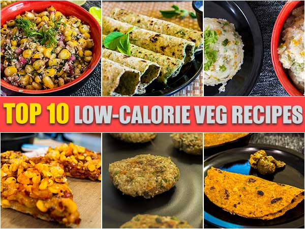 top 10 low-calorie veg recipes