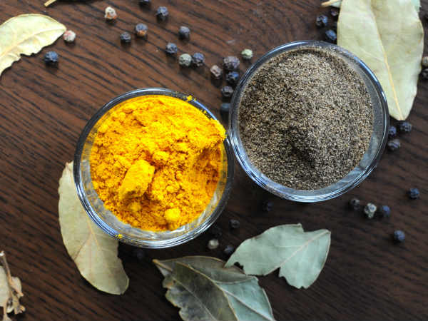 health benefits of turmeric and pepper
