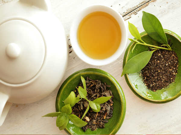 Using Green Tea For Different Skin Types Boldsky Com