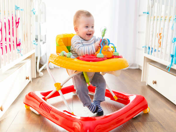 Is it safe to use baby walker for kids