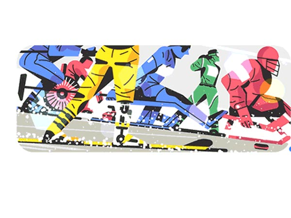 Google Doodle Is Celebrating Winter Paralympics