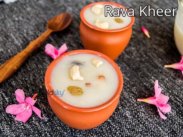 Rava Kheer Recipe   How To Make Suji Ki Kheer   Ugadi-special Rava Payasam Recipe