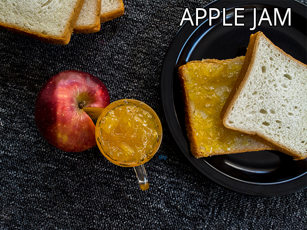 Apple Jam Recipe | How To Make Organic Apple Jam | Homemade Apple Jam Recipe
