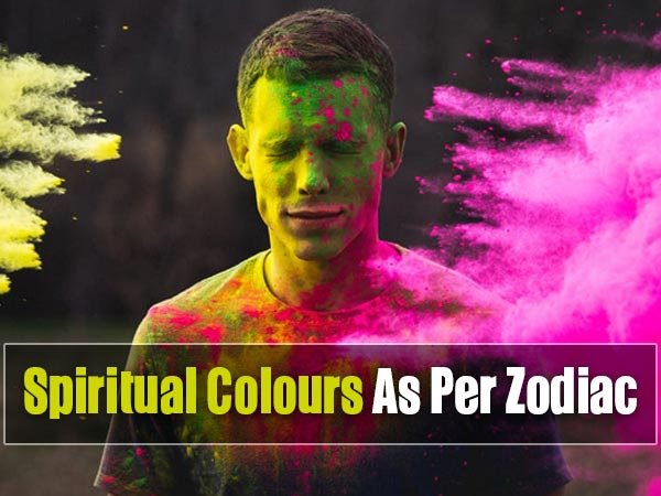 Your Zodiac Power Colours Enhances Your Spiritual Energy