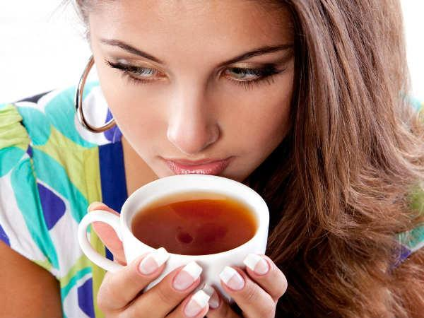 what happens when you drink tea on an empty stomach