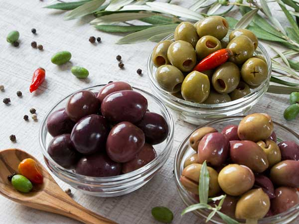 eating olives everyday