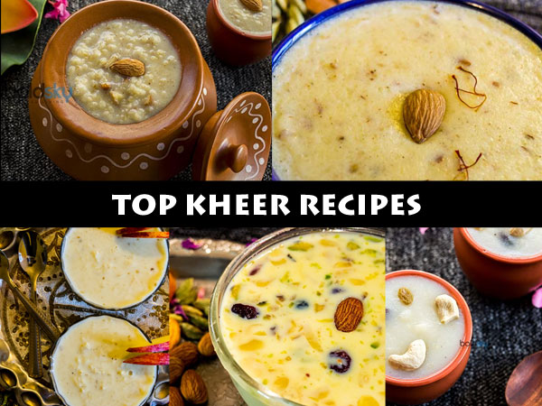 top kheer recipes