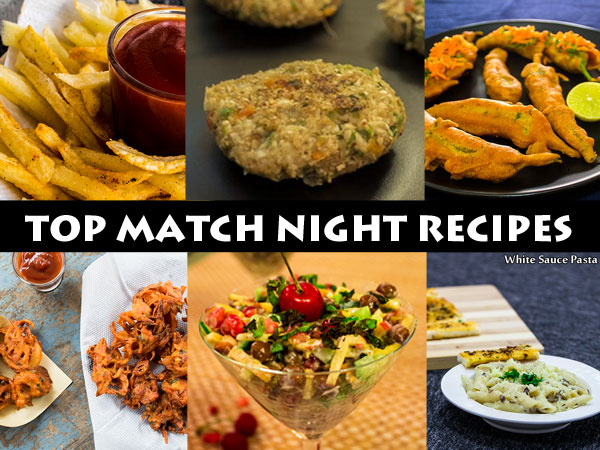 top match night recipes