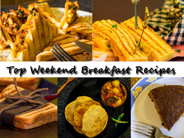 Top Weekend Breakfast Recipes | Healthy Breakfast Recipes
